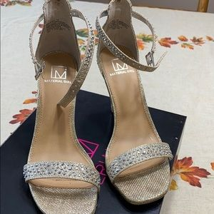 Material girl high heel shoes
